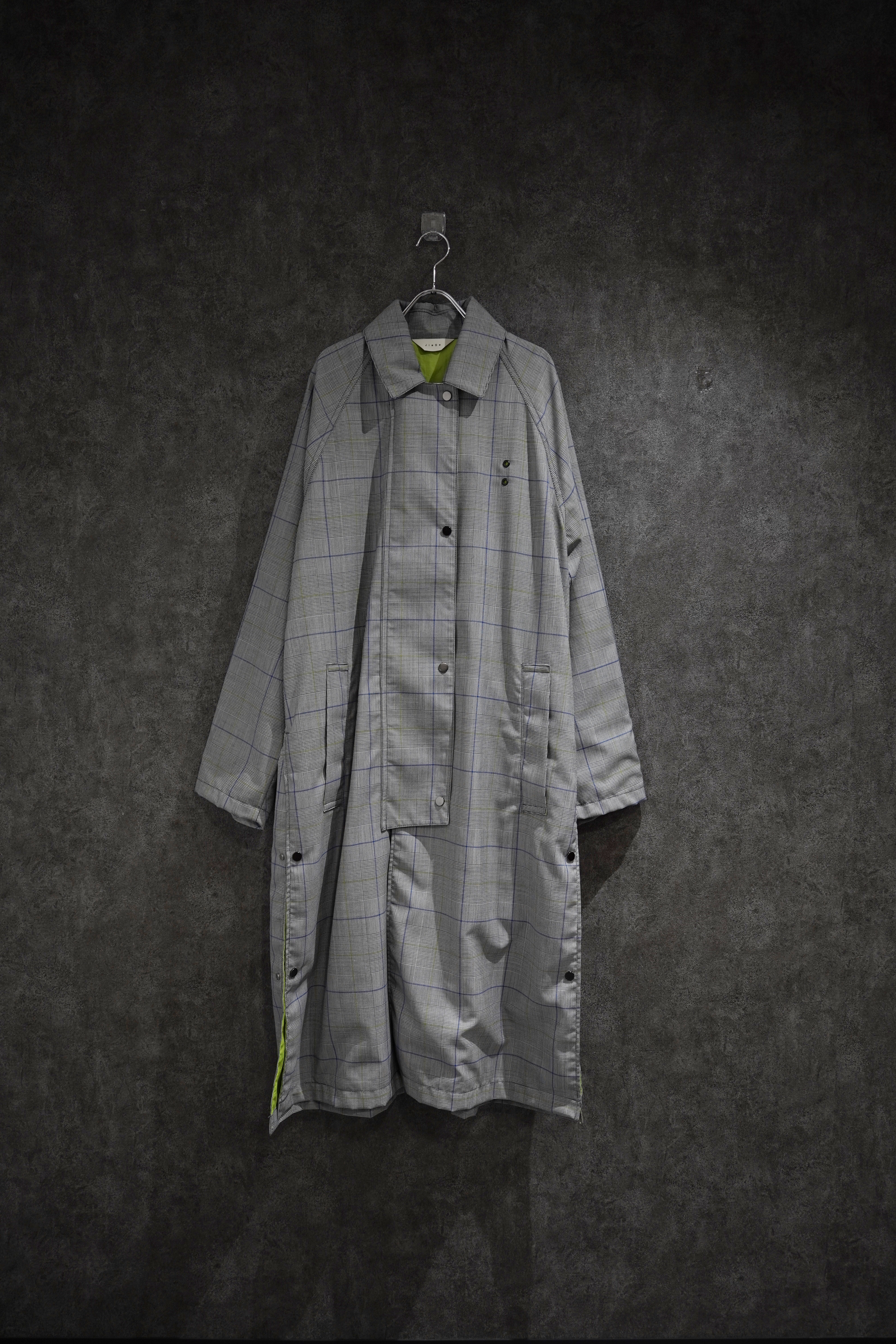 【 winter Special price】JieDaCHECK OVER COAT (GLN)