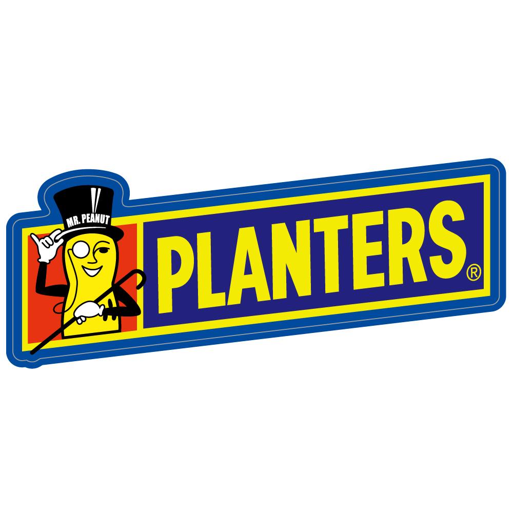 """182 ピーナッツスナックはPLANTERS """"California Market Center"""" アメリカンステッカー スーツケース シール"""