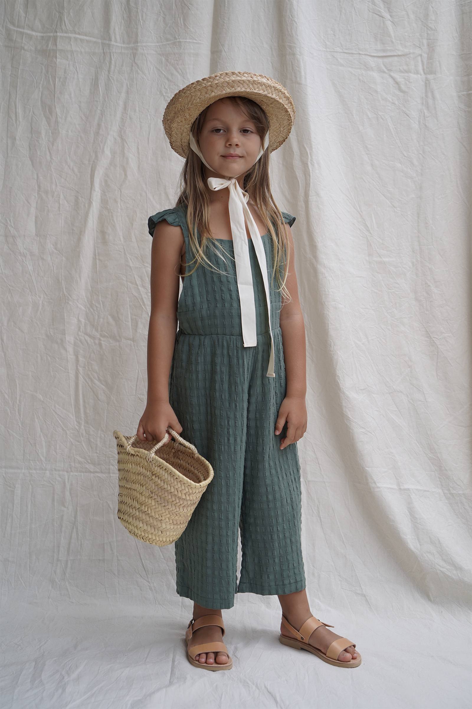 House of Paloma / Matilde Overall Aegean Green