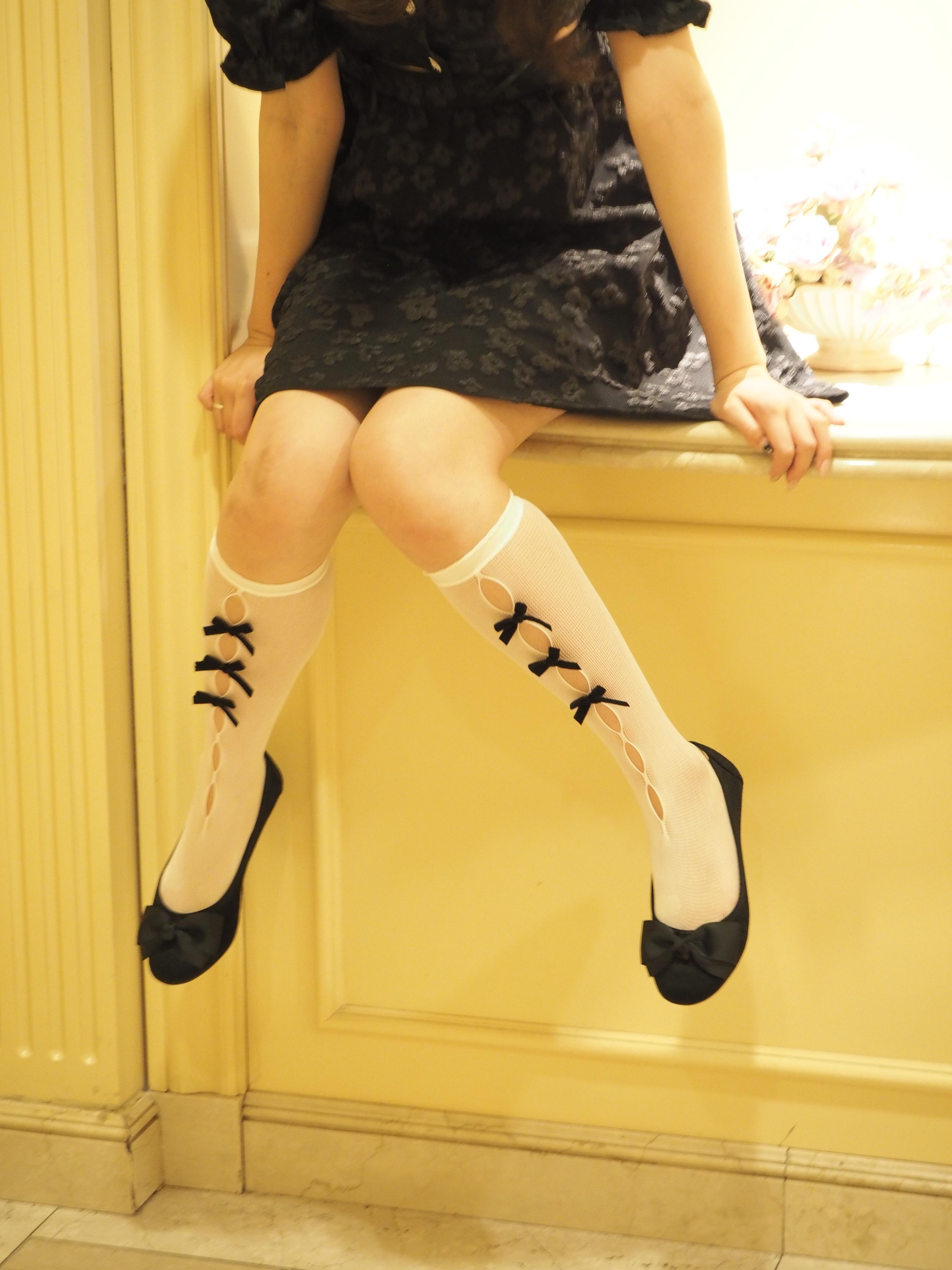 【Renonqle】bowknot socks
