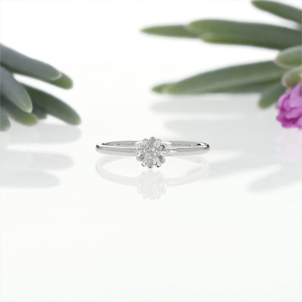 Silver / リング / Daisy ring