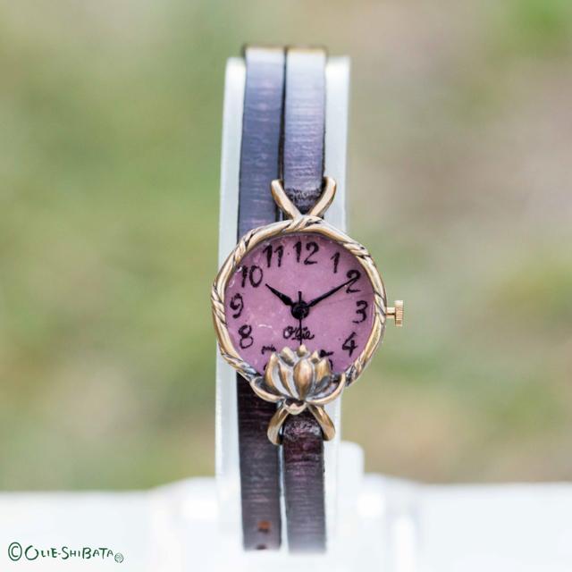 Lotus腕時計SSパープル
