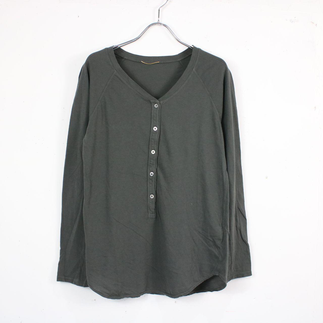 Deuxieme Classe / ドゥーズィエムクラス | Henly Long Tシャツ | F | カーキ