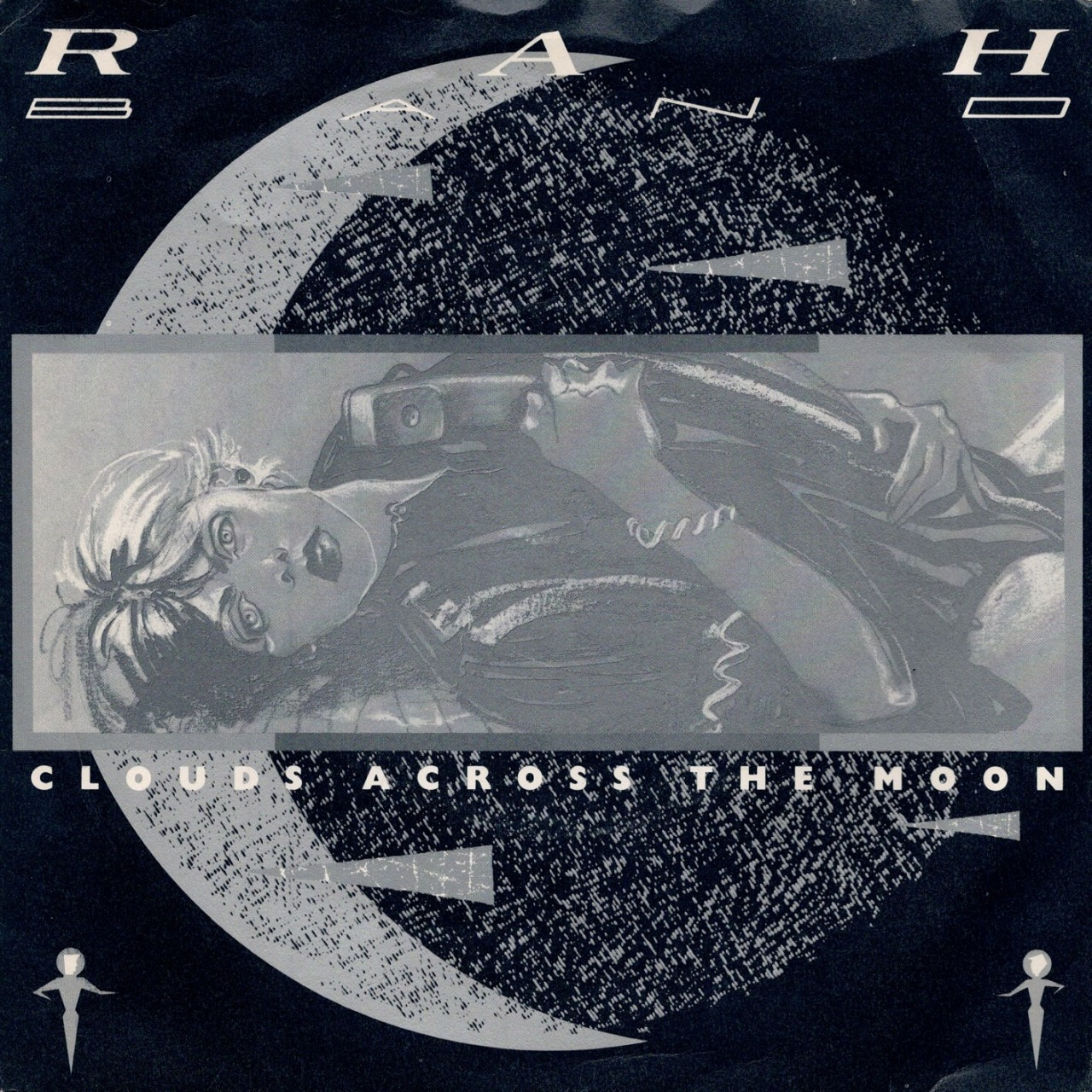【7inch・英盤】RAH Band  /  Clouds Across The Moon