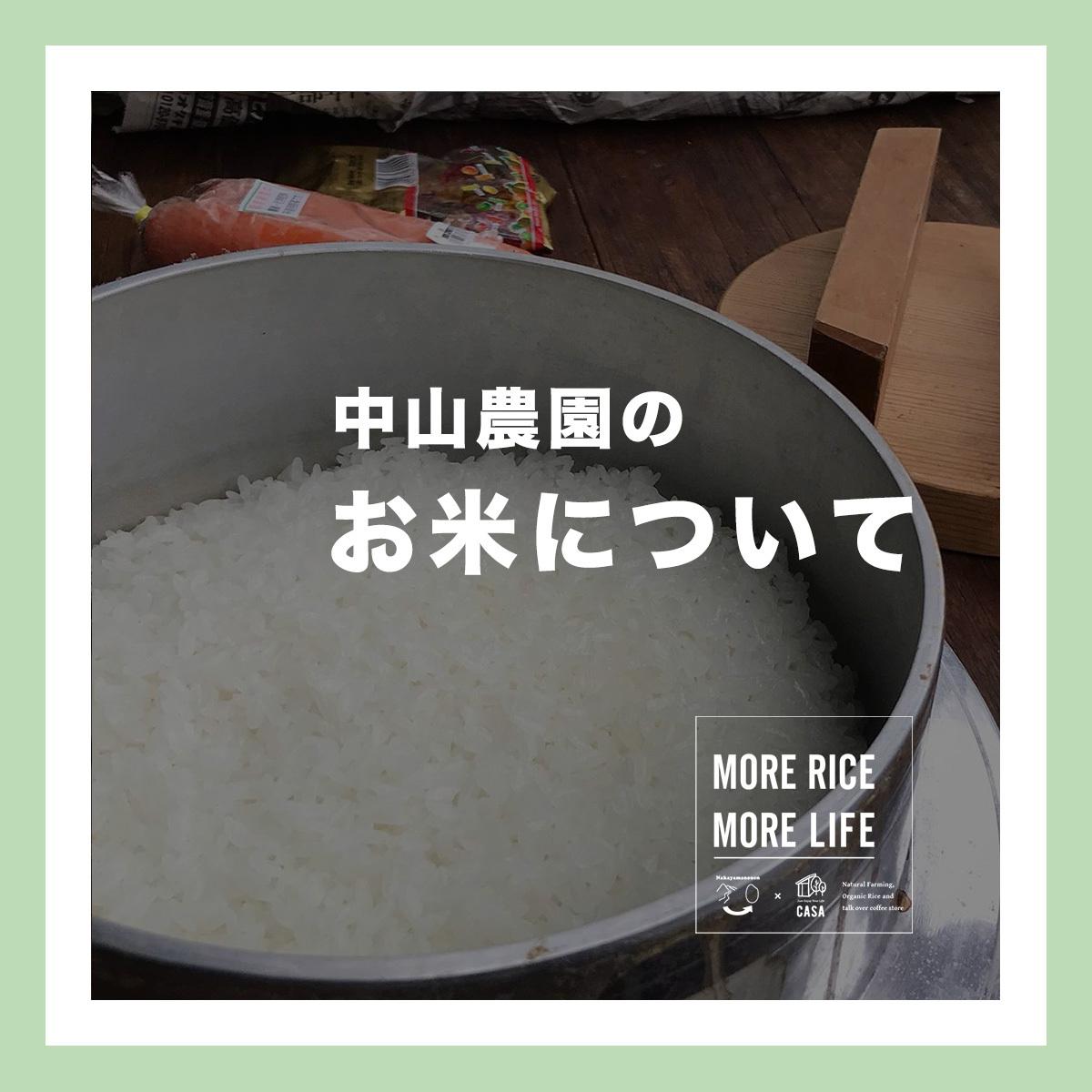 【ご紹介】お米について