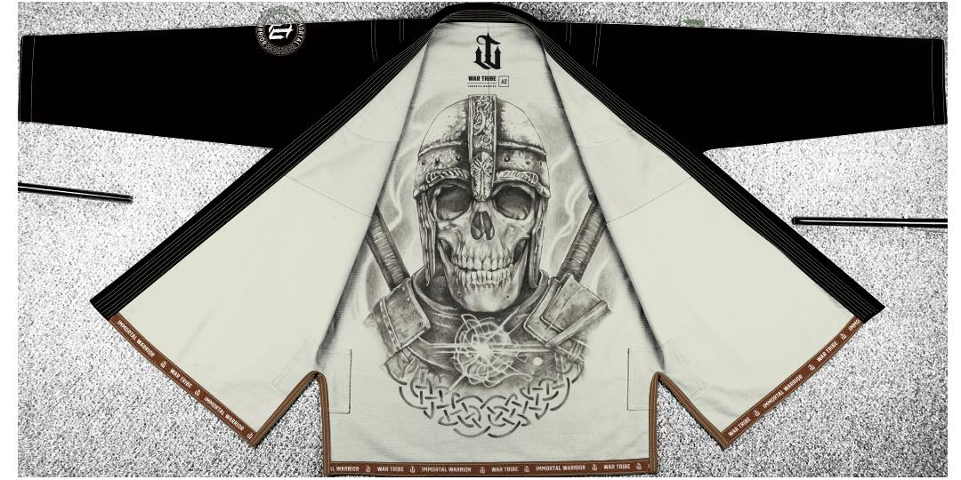 WAR TRIBE IMMORTAL WARRIOR GI ブラック ブラジリアン柔術衣