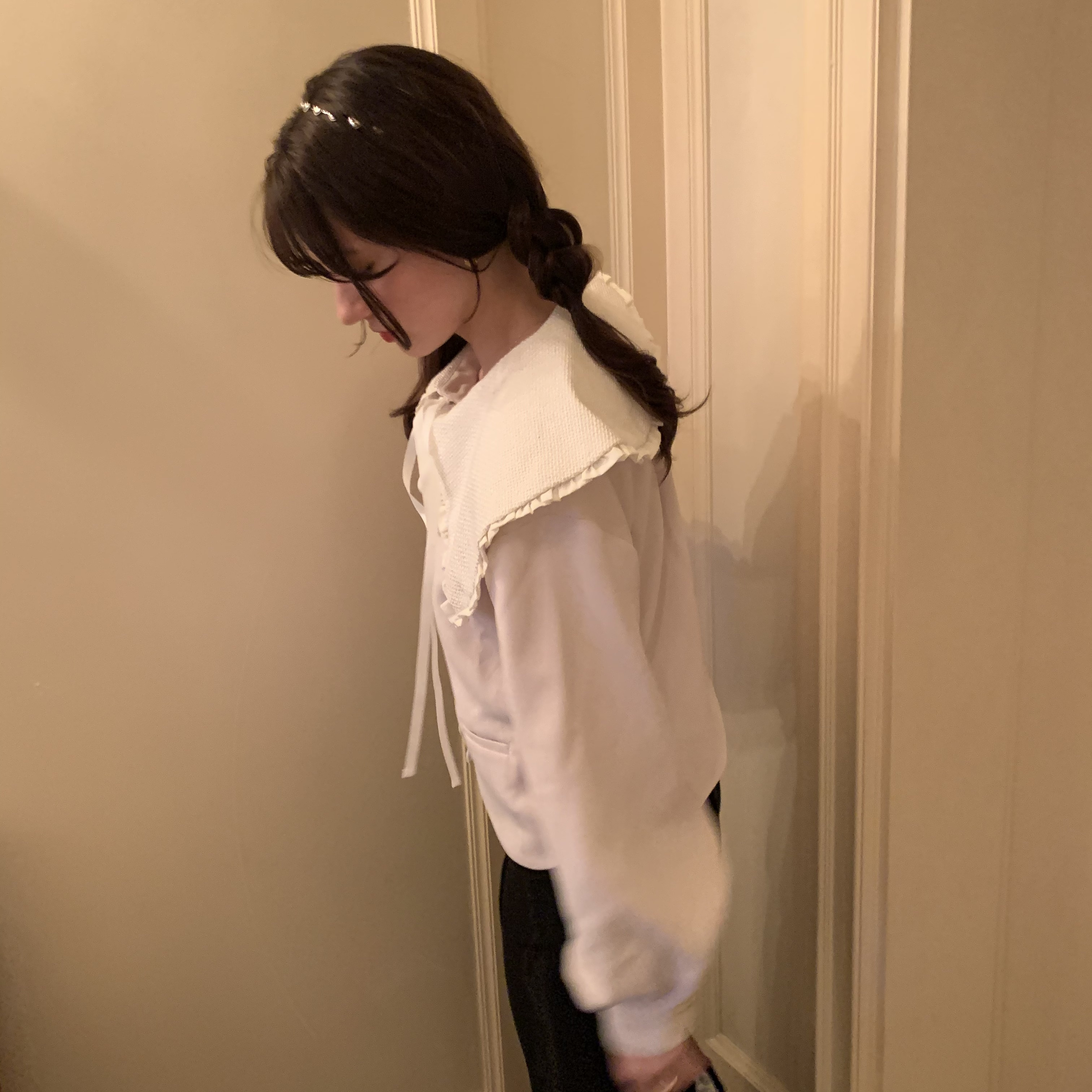 【NEW】original collar jacket