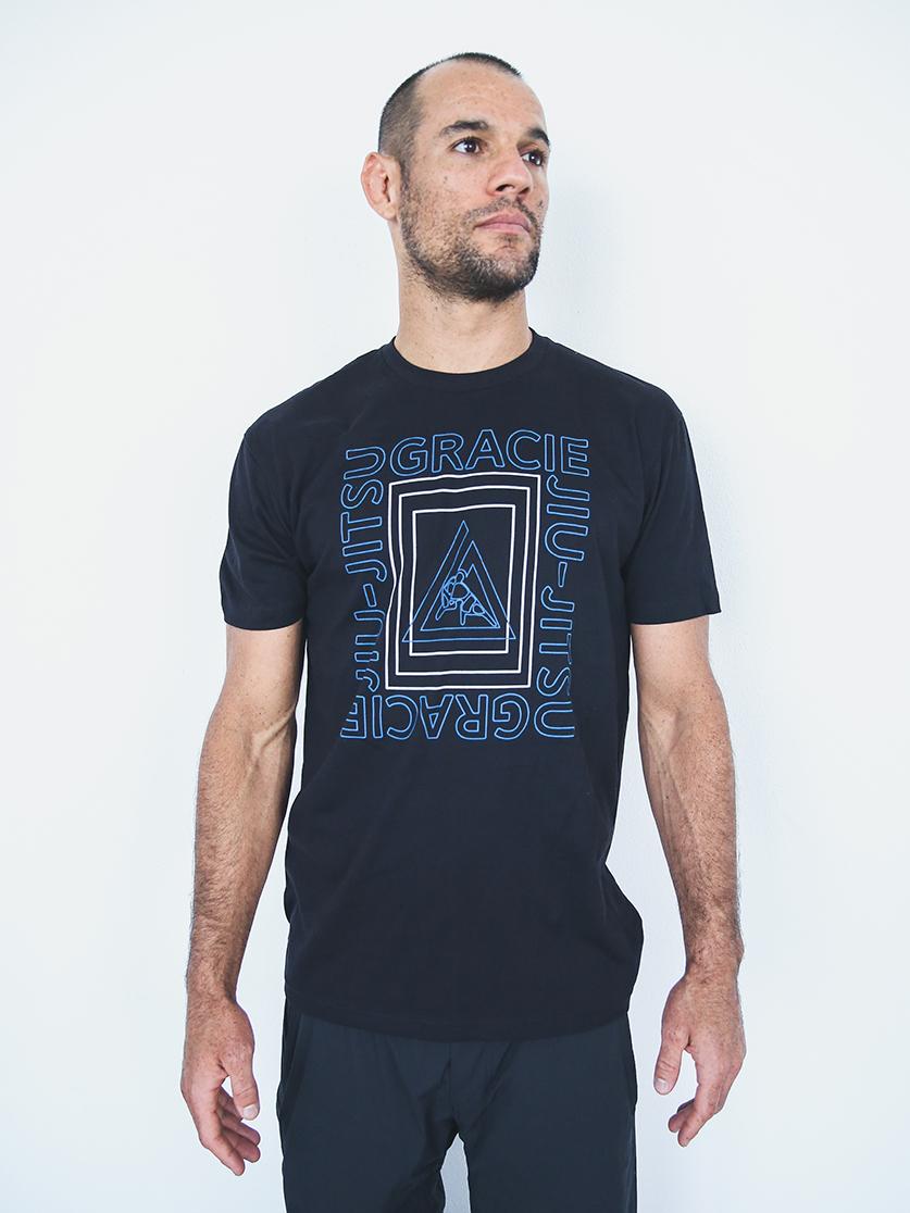 グレイシー柔術公式 Frame Tシャツ