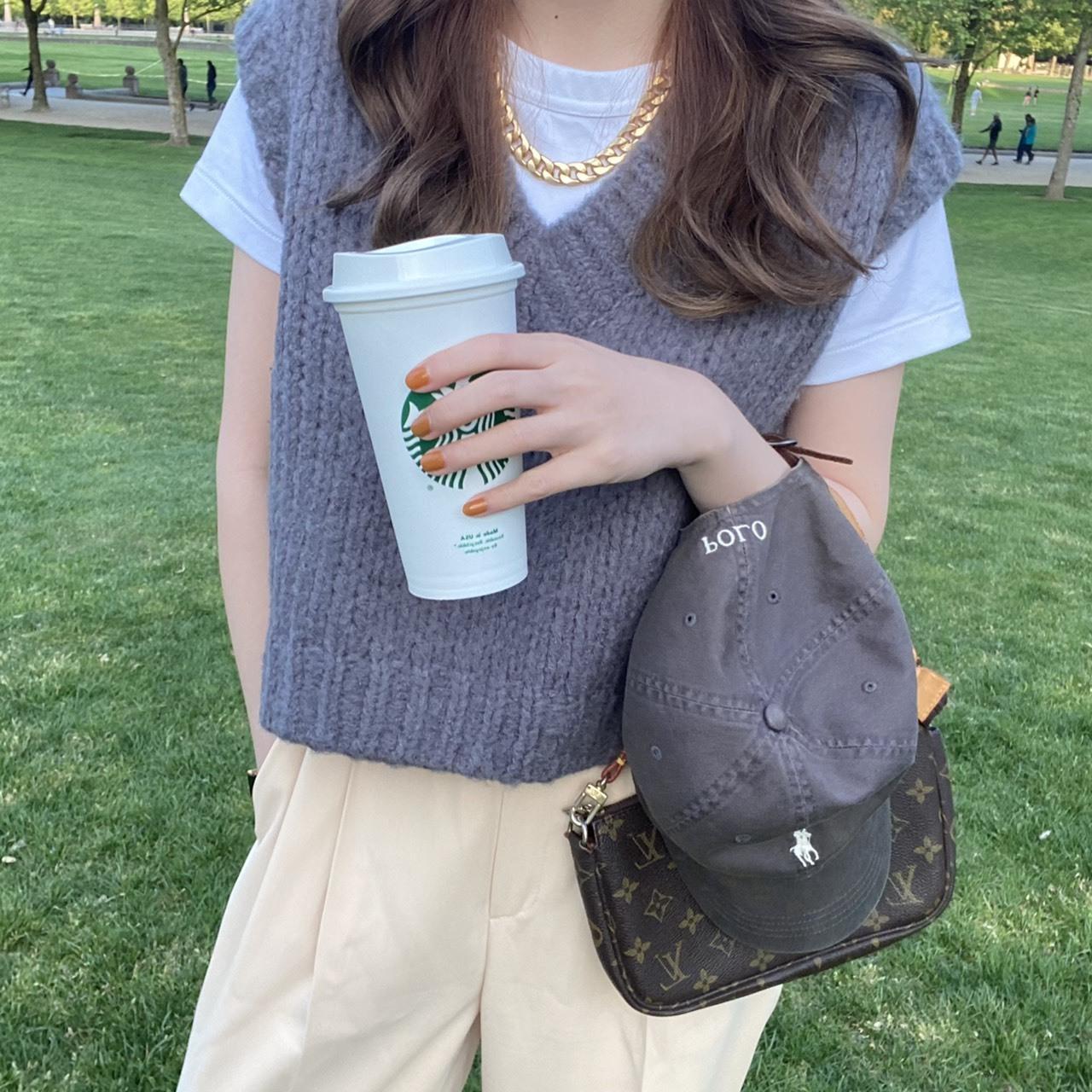 DAYNYC casual vest(gray)