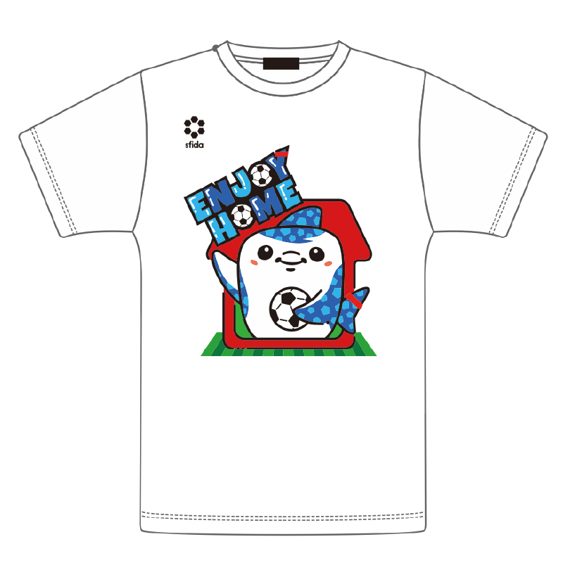 ジンべーニョENJOY HOME Tシャツ(ホワイト)