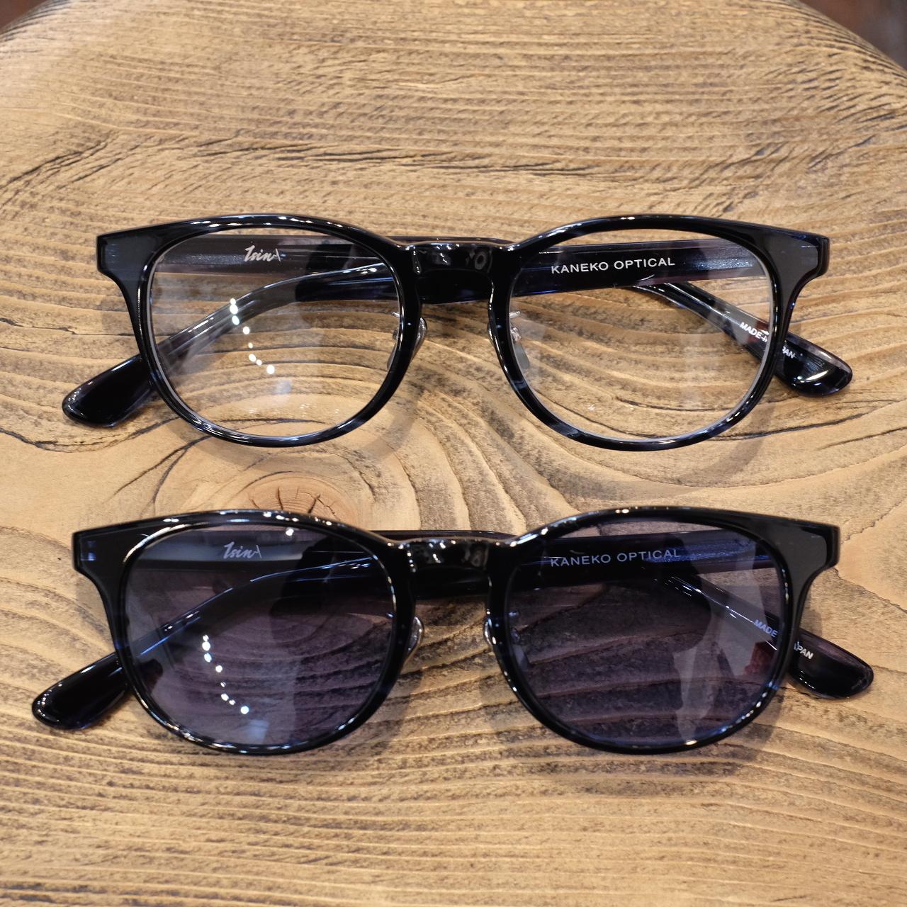 1sin(イッシン) CIRCLE別注innovator ネイビー 眼鏡・サングラス