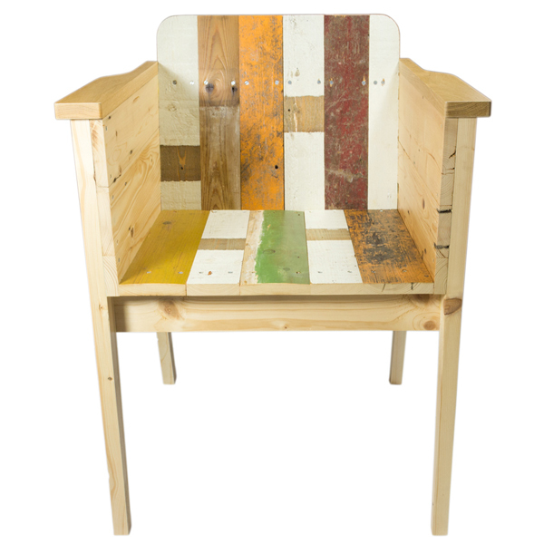 PIET HEIN EEK Scrapwood Arm Chair