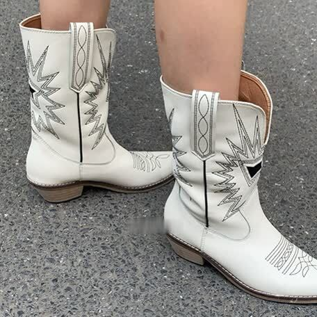Vintage point toe boots(ヴィンテージポイントトゥブーツ)a-958