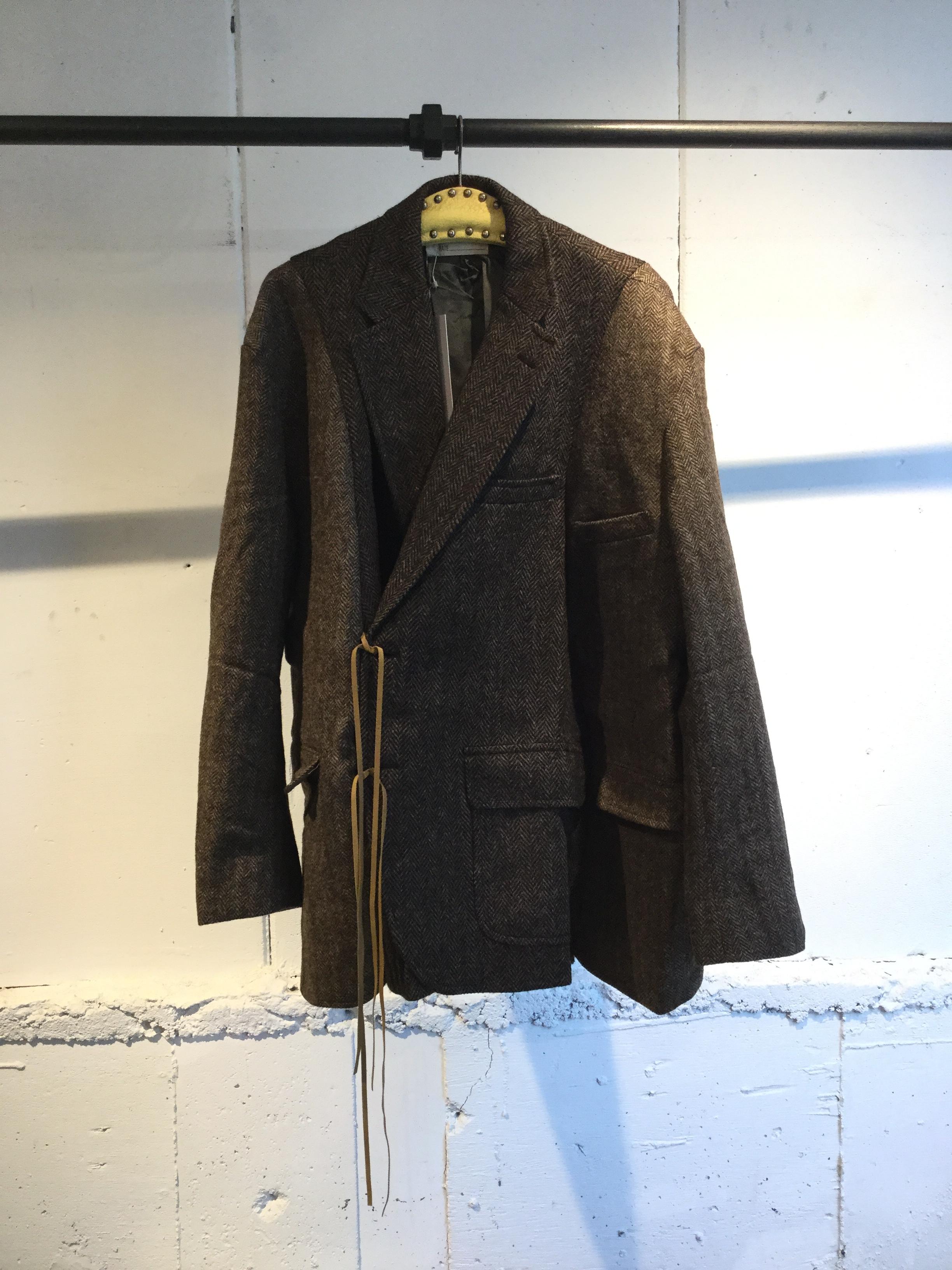 77circa   circa make wide tweed jacket