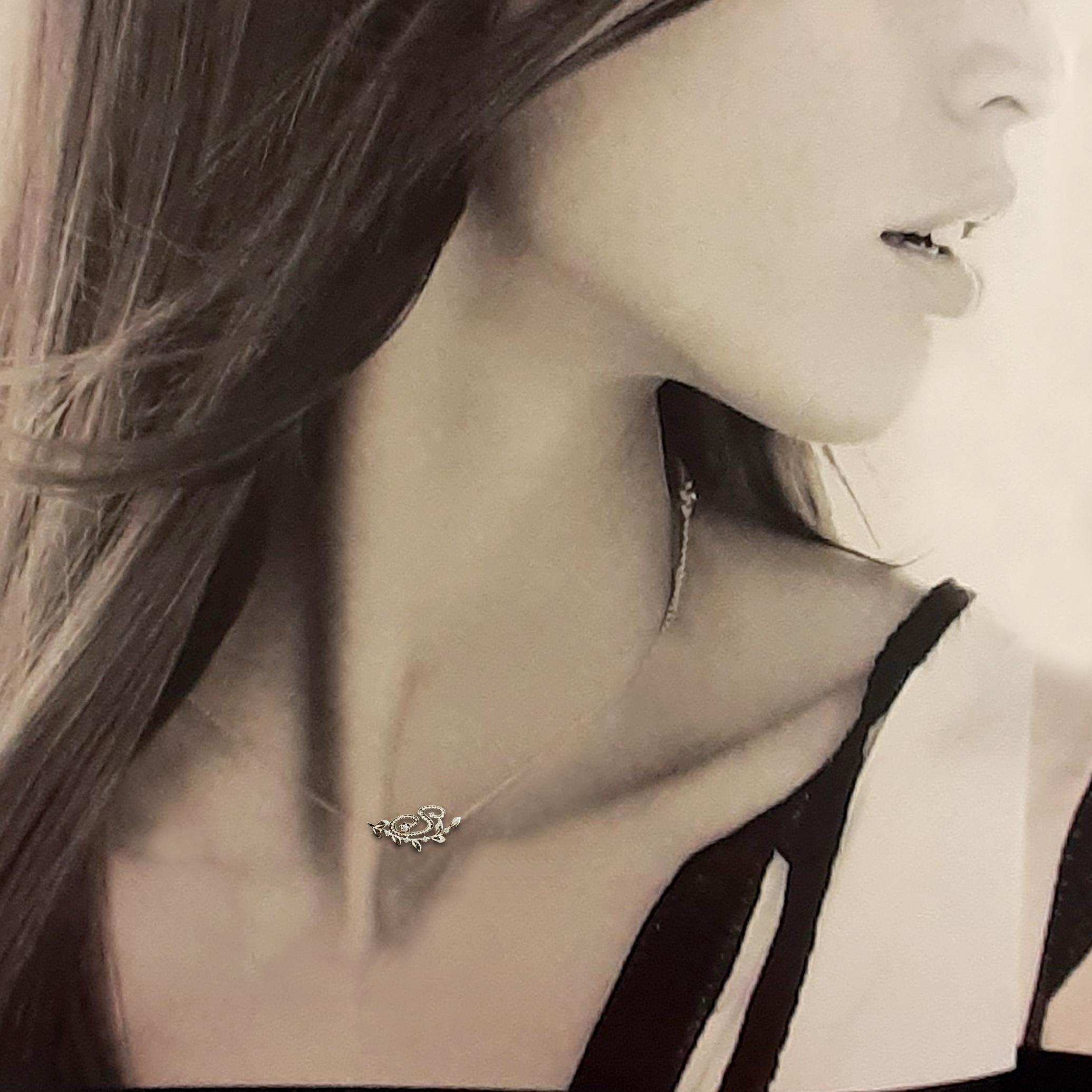 イニシャル・ダイヤモンドネックレス(Y・A・M・K・S・E・H・N・R・T)