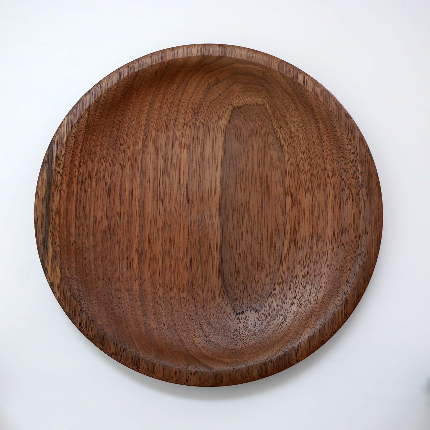 【現品】お皿(ブラックウォルナット)