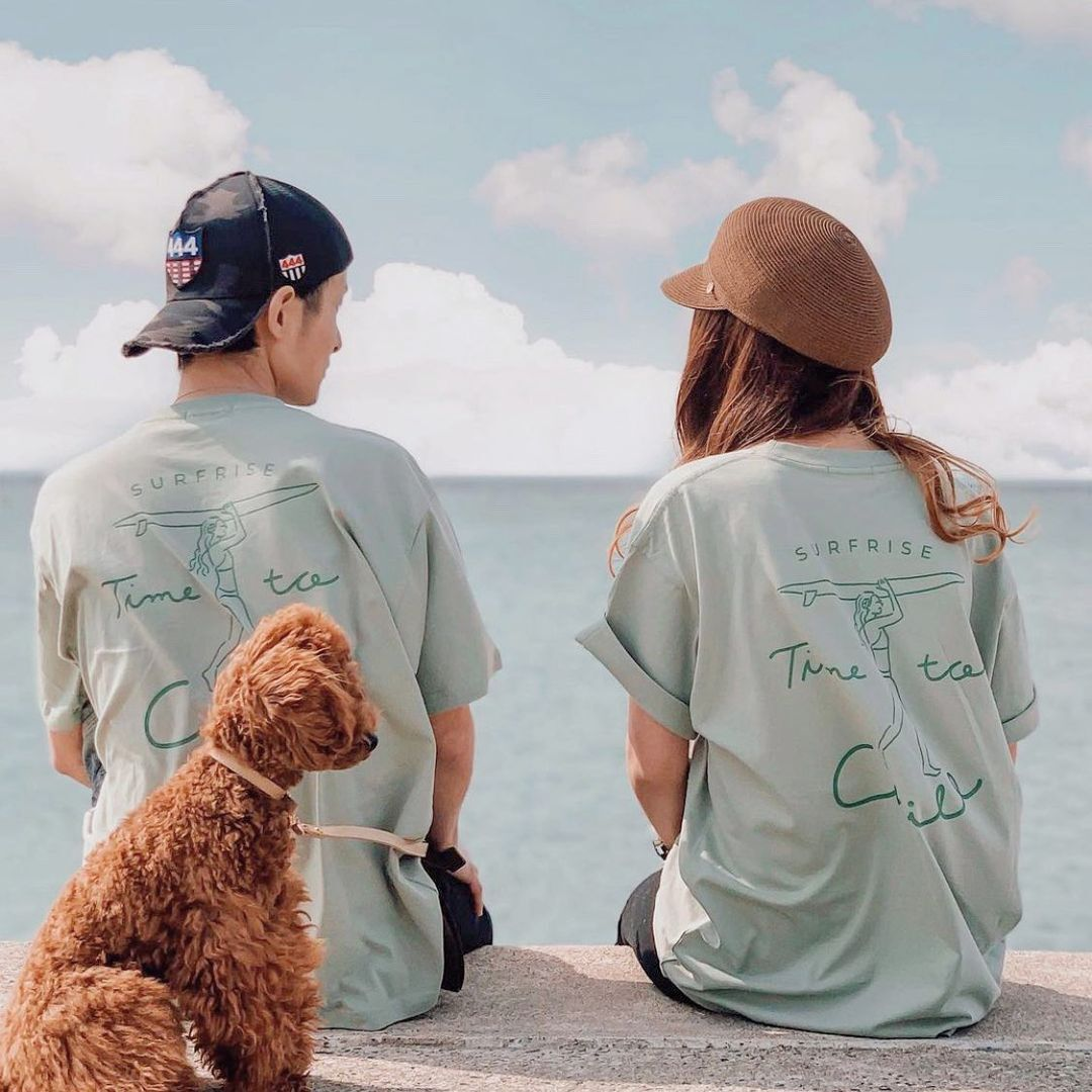 Time to chill Tee - Blue mint