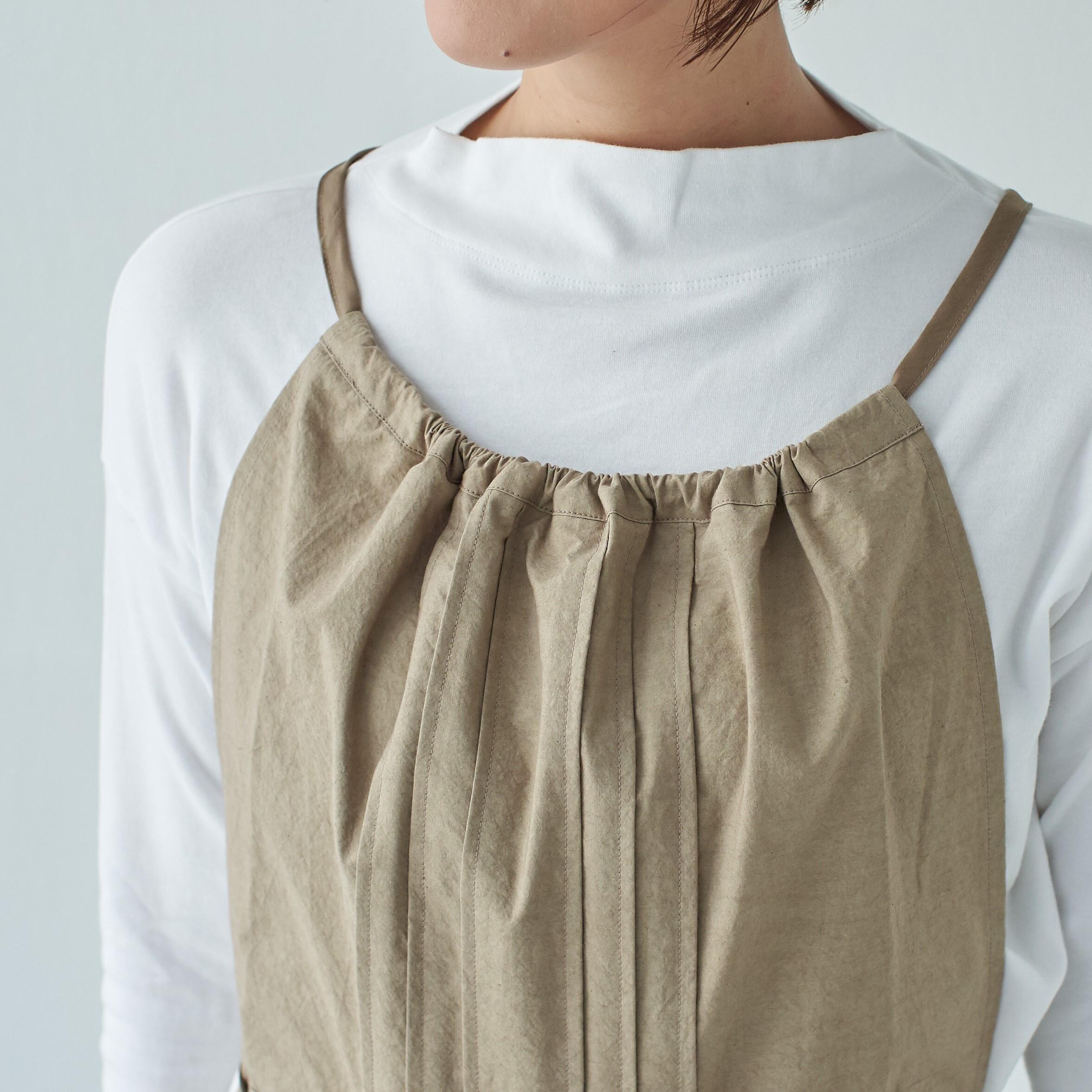 タックエプロン tuck apron / コットン cotton
