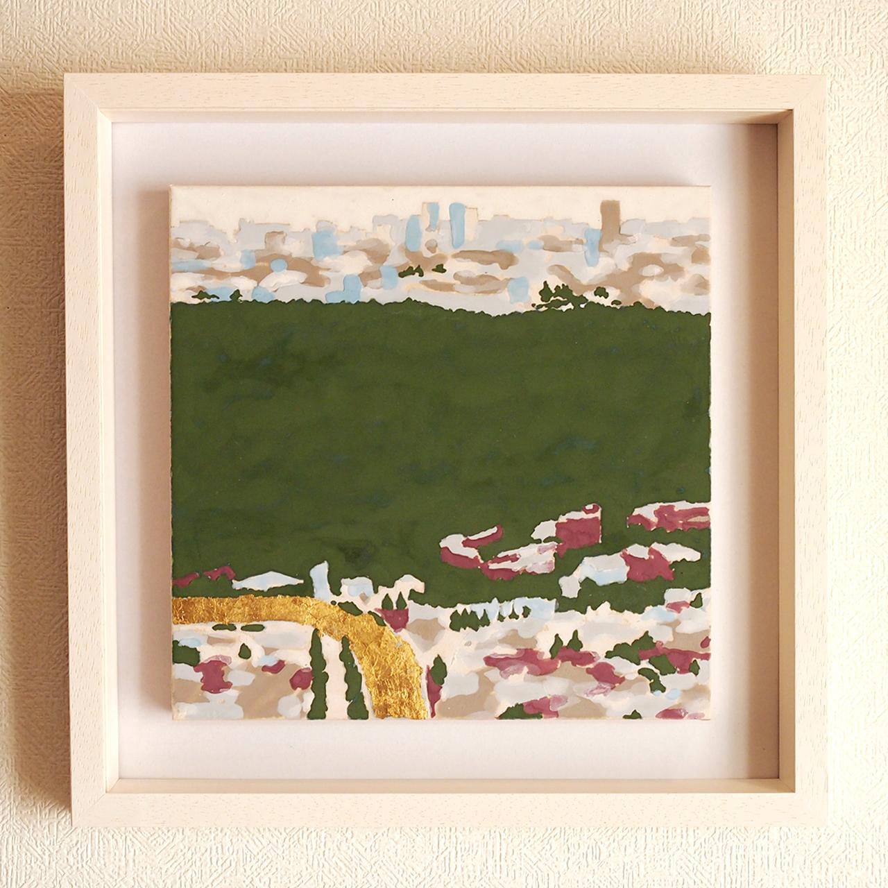 日本画   代々木   風景
