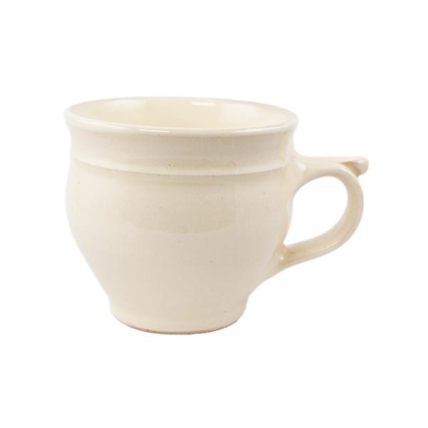 出西窯 モーニングカップ 白