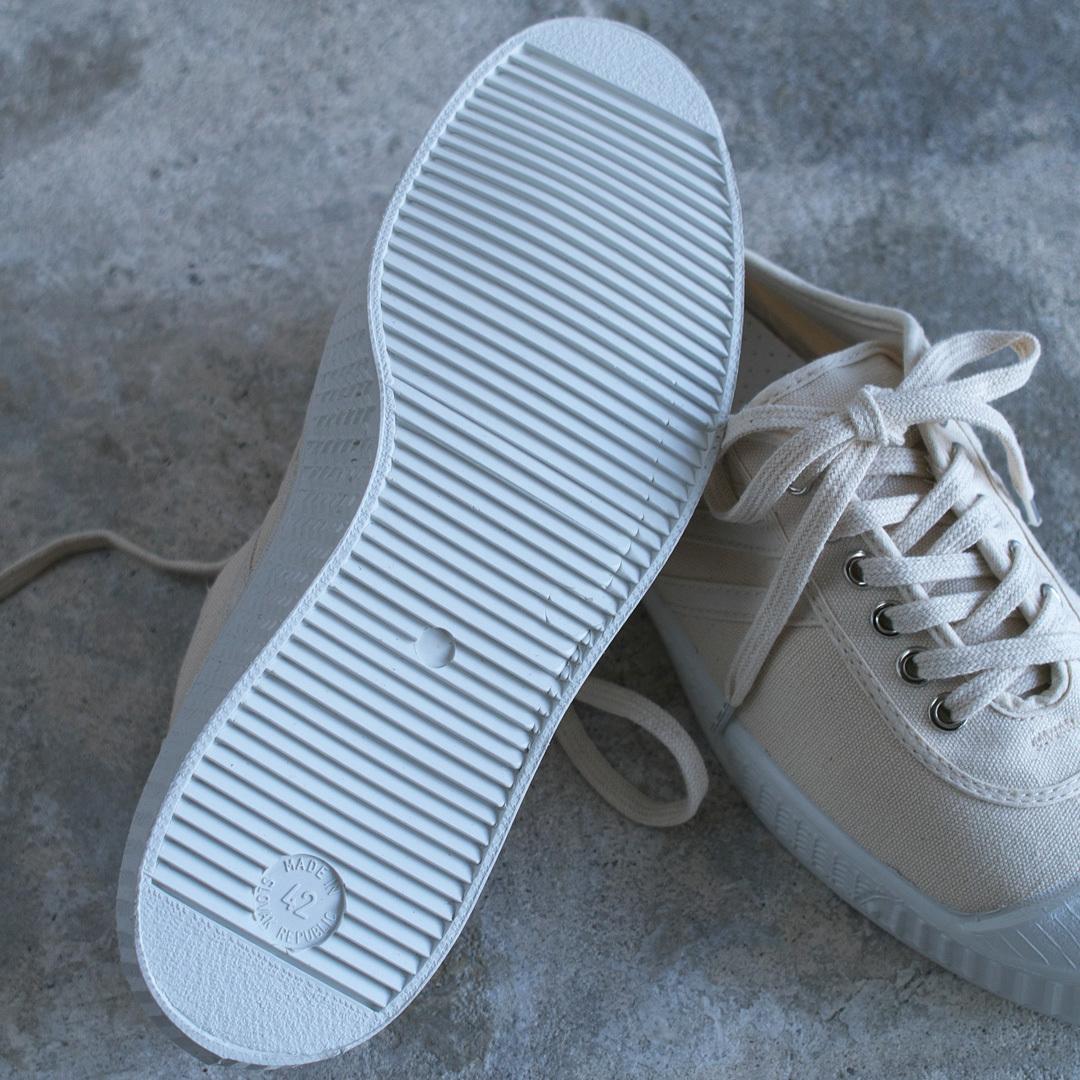 INN-STANT インスタント canvas shoes neo  キャンバスシューズネオ・ホワイト&ホワイト/ ホワイトソール
