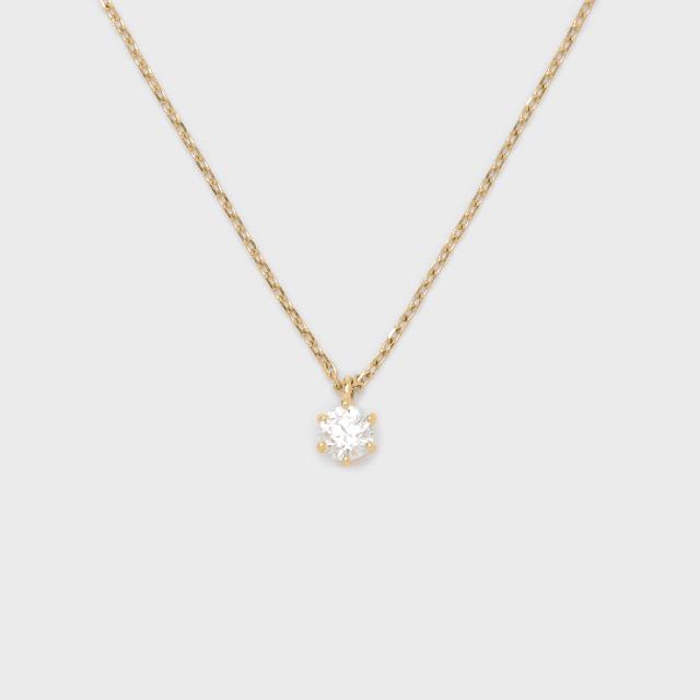 ENUOVE frutta Diamond Necklace K18YG(イノーヴェ フルッタ 0.3ct K18イエローゴールド ダイヤモンドネックレス スライドアジャスターチェーン)