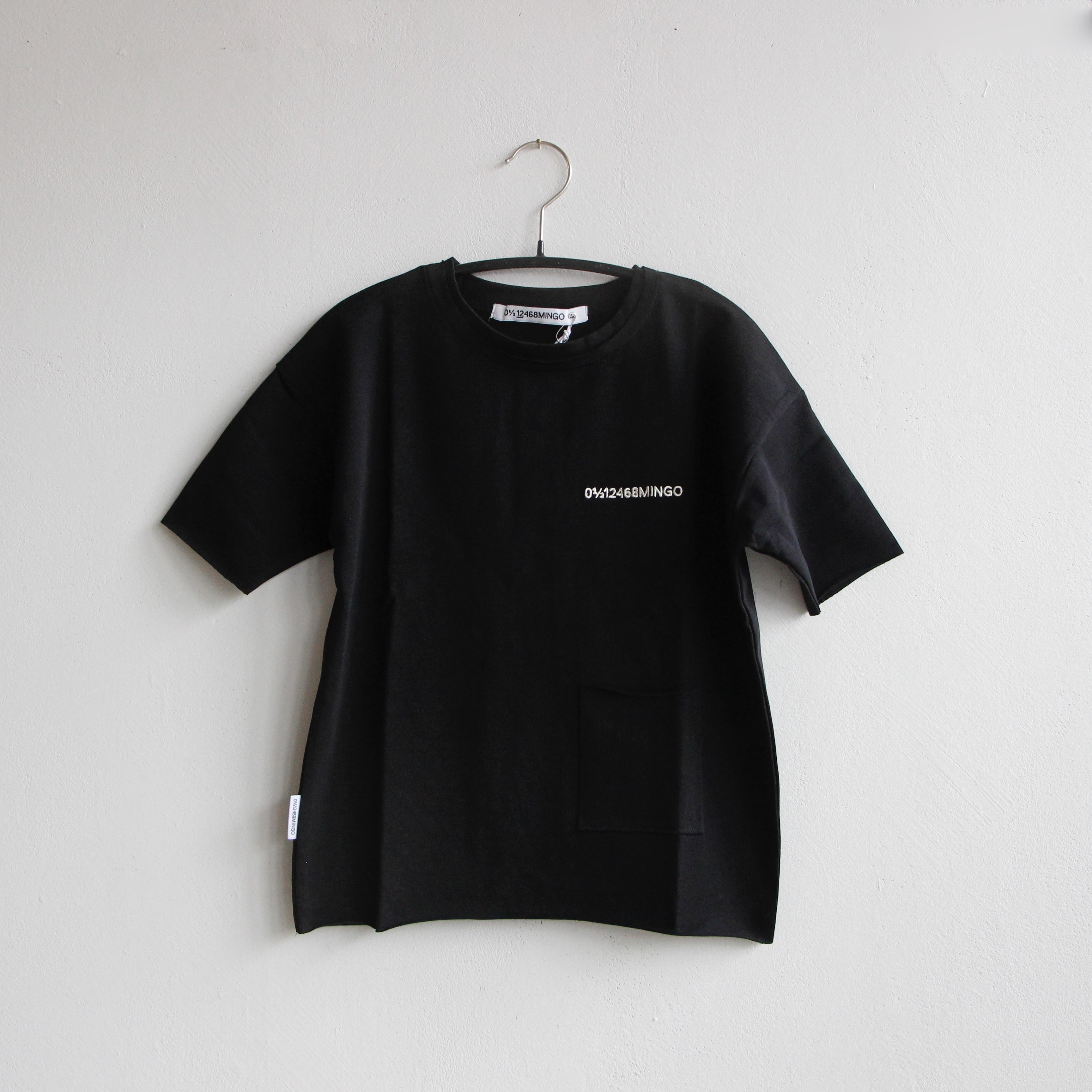 《MINGO. 2021SS》Limited T-shirt / black