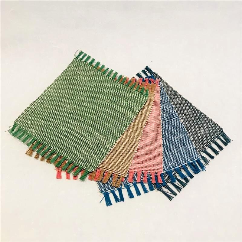 紙のさと 22-13 紙布コースター5枚セット