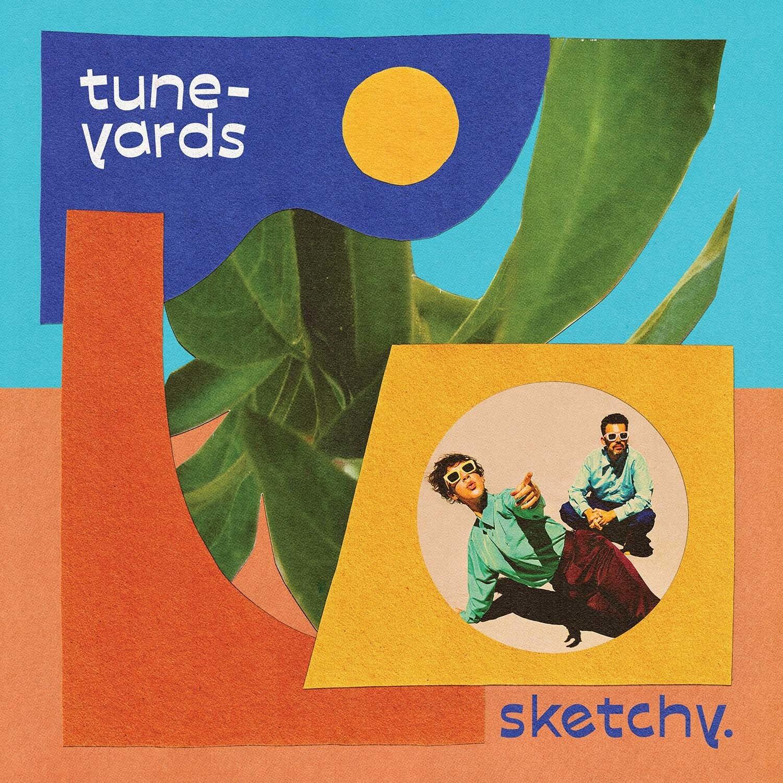 tune-yards - sketchy. (LTD. Blue LP)