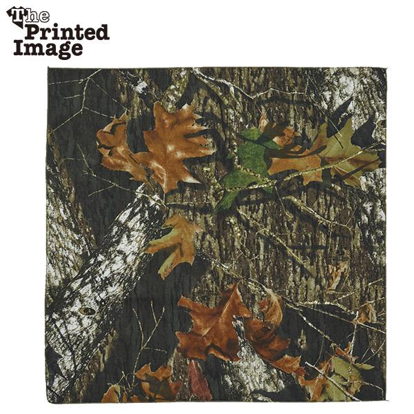 新品 Printed Image Mossy Oak Camo bandana G0330
