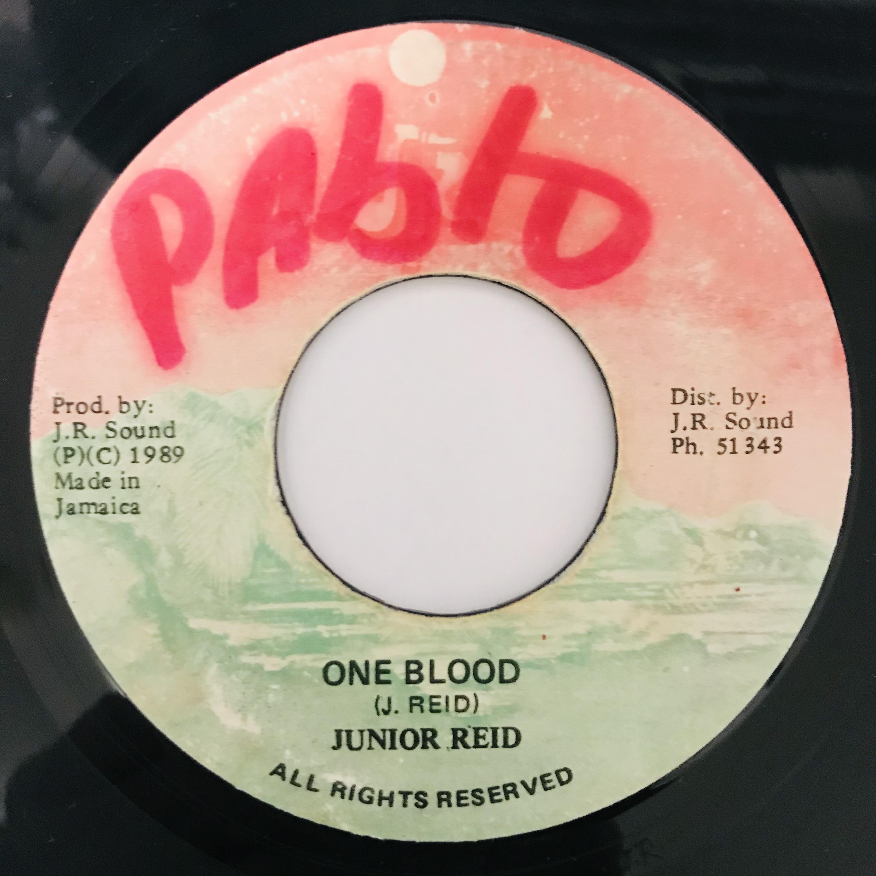 Junior Reid - One Blood【7-10978】