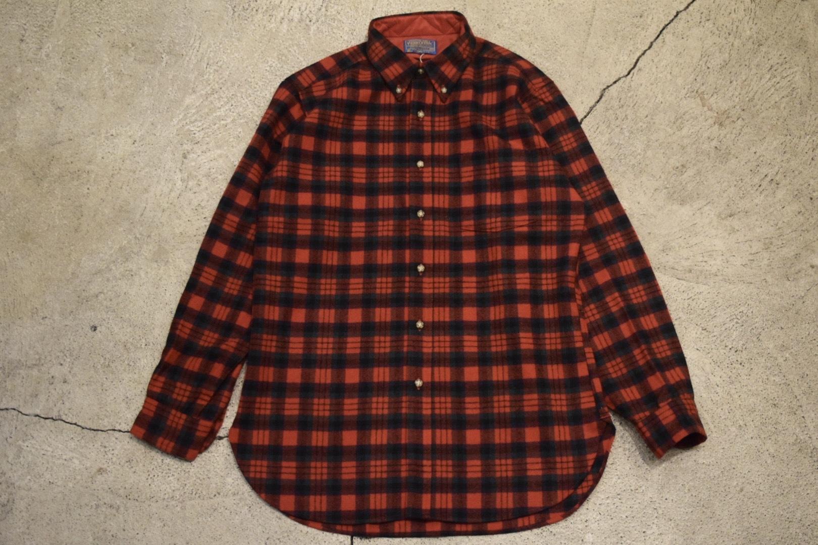 Deadstock 70s Pendleton Wool Shirt -Medium S0802