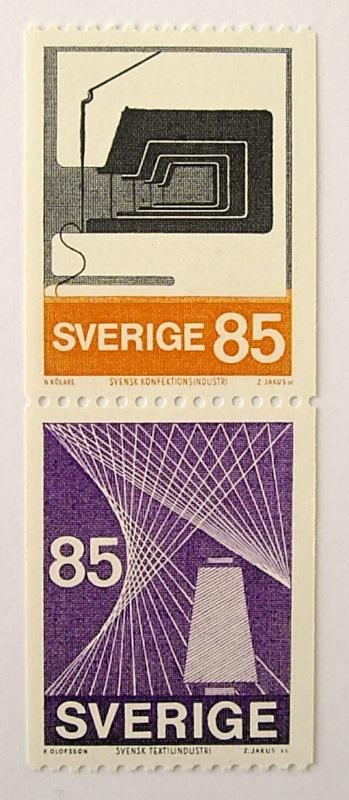 テキスタイル・インダストリー / スウェーデン 1974