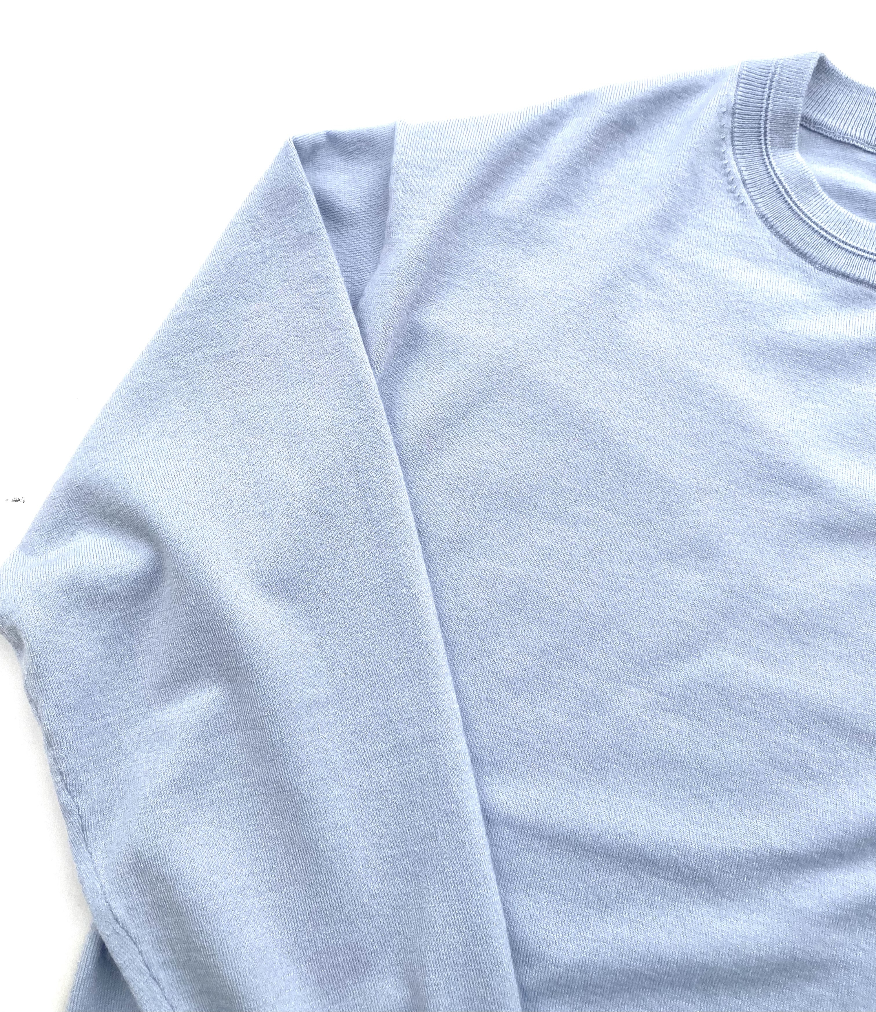 W/CASHMERE  [BASIC PULLOVER]