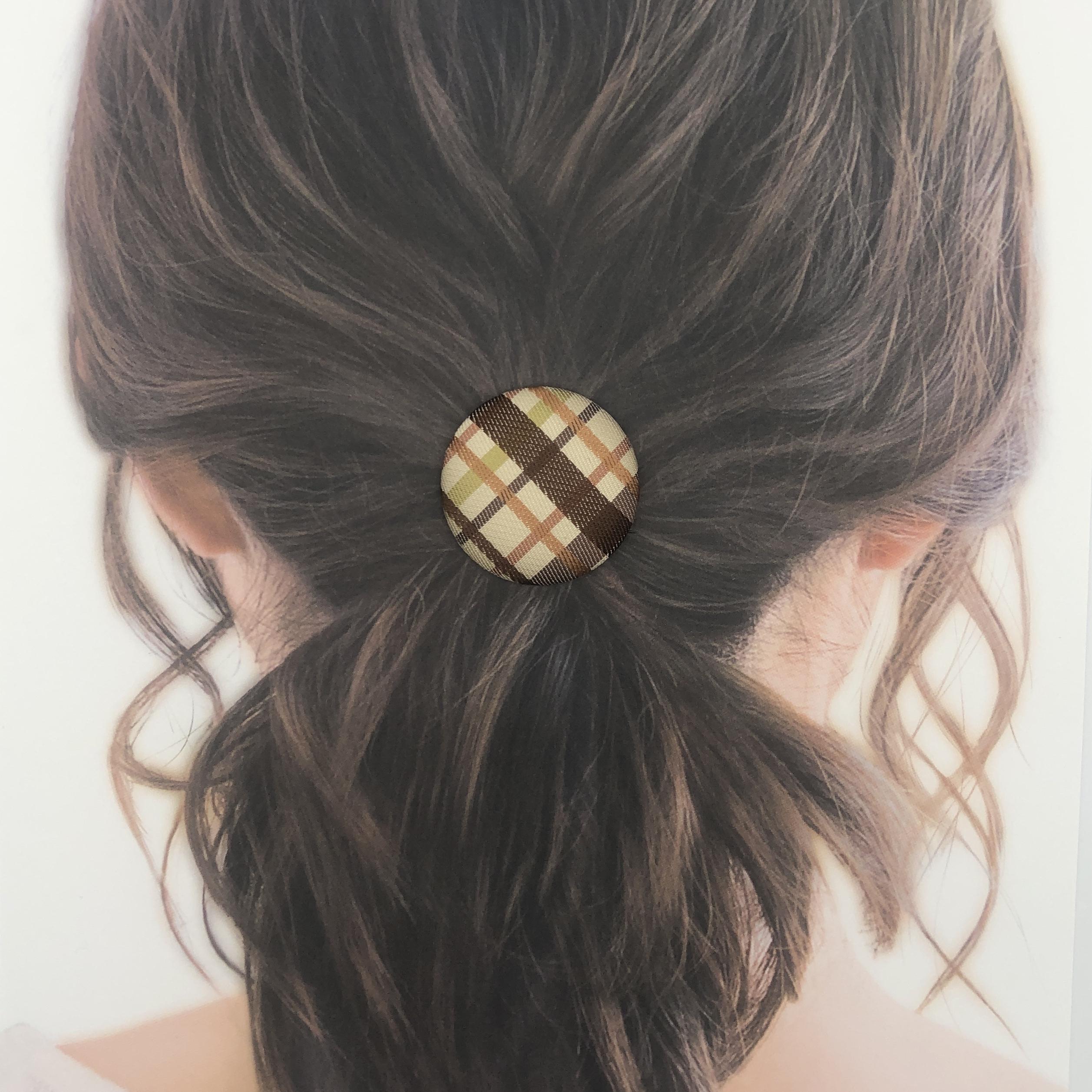 【京友禅ヘアゴム】着物(浴衣/和装/和風)に似合う髪飾り♪もちろん、普段使いも◎着けるだけで簡単!お洒落に[5920]