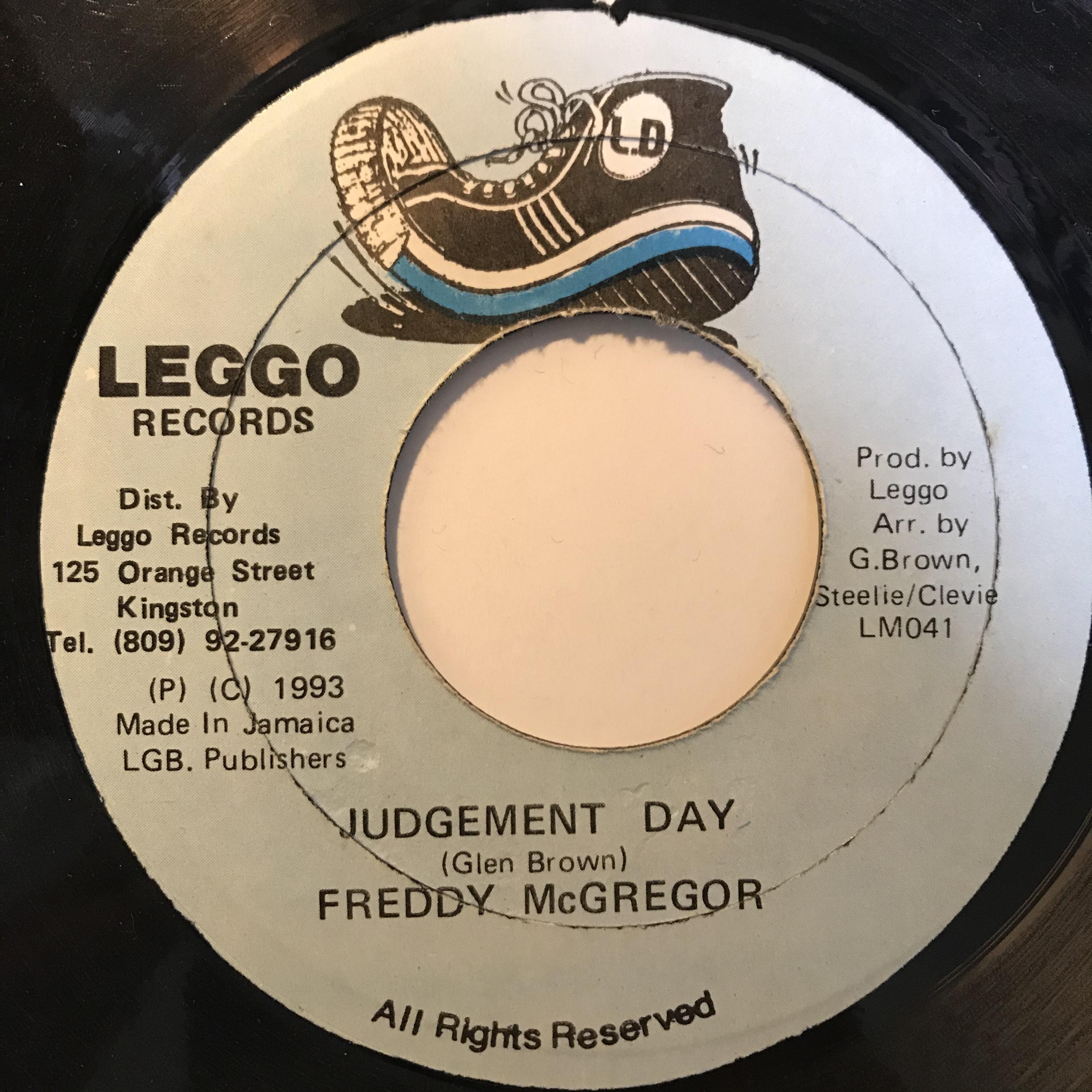 Freddy McGregor - Judgement Day【7-10815】