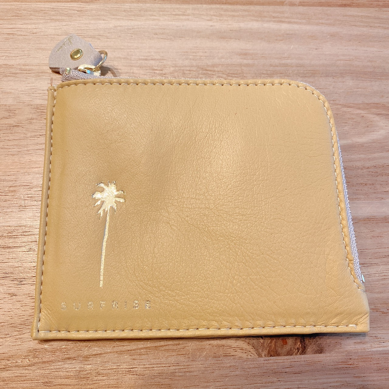 Mini wallet - Misted Yellow