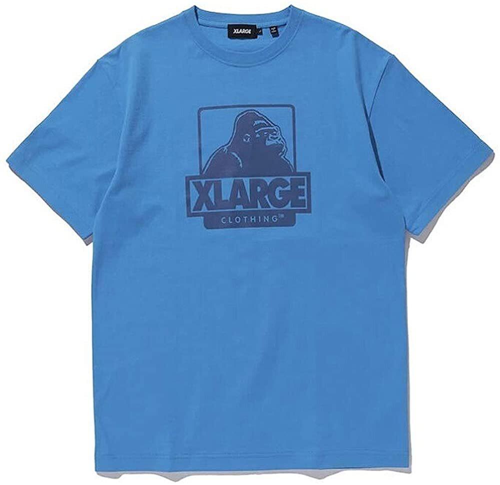 X-LARGE エクストララージ TIEDYE LADY OG 半袖ロゴ・グラフィックプリントTシャツ BLUE 9151044 [並行輸入品]