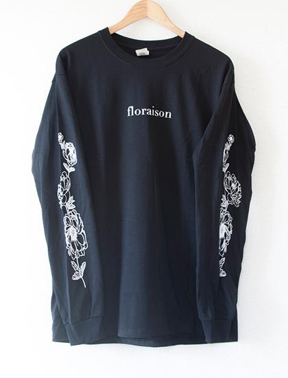 【STAY SICK CLOTHING】Floraison Long Sleeve (Black)