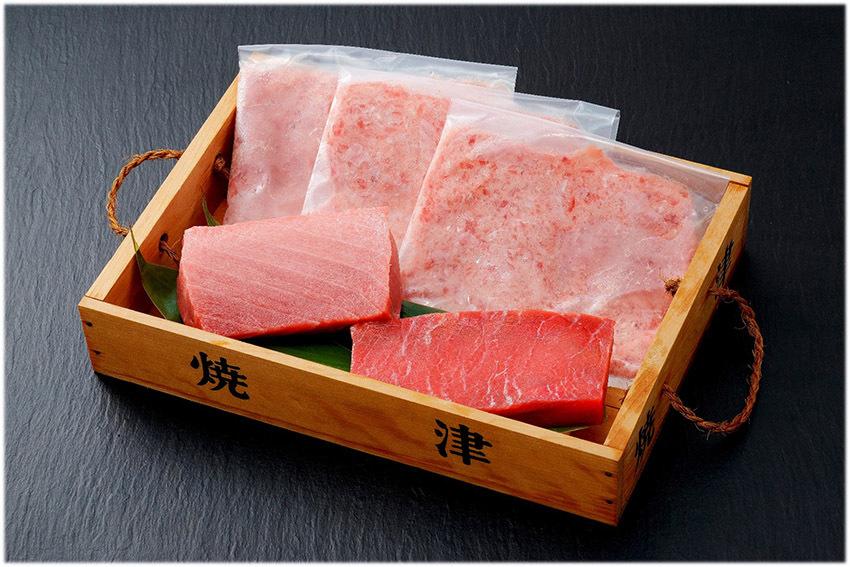 (A)焼津本まぐろ食べ比べとねぎとろセット<冷凍>【送料無料】