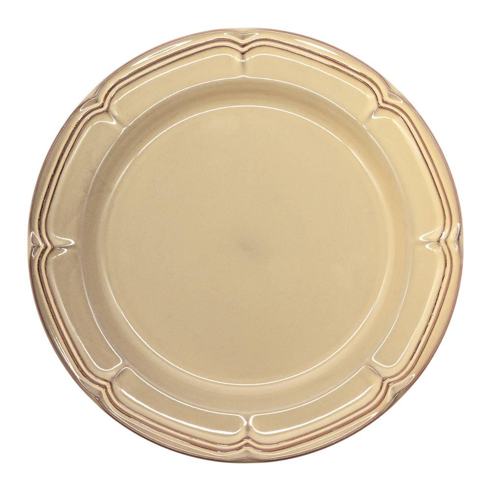 Koyo ラフィネ リムプレート 皿 約26cm シナモンベージュ 15922103