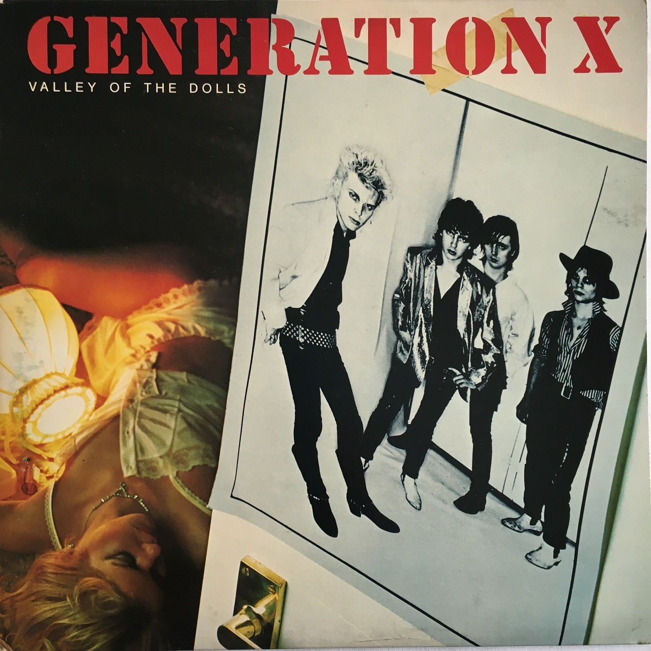 【LP・英盤】Generation X  /  Valley Of The Dolls