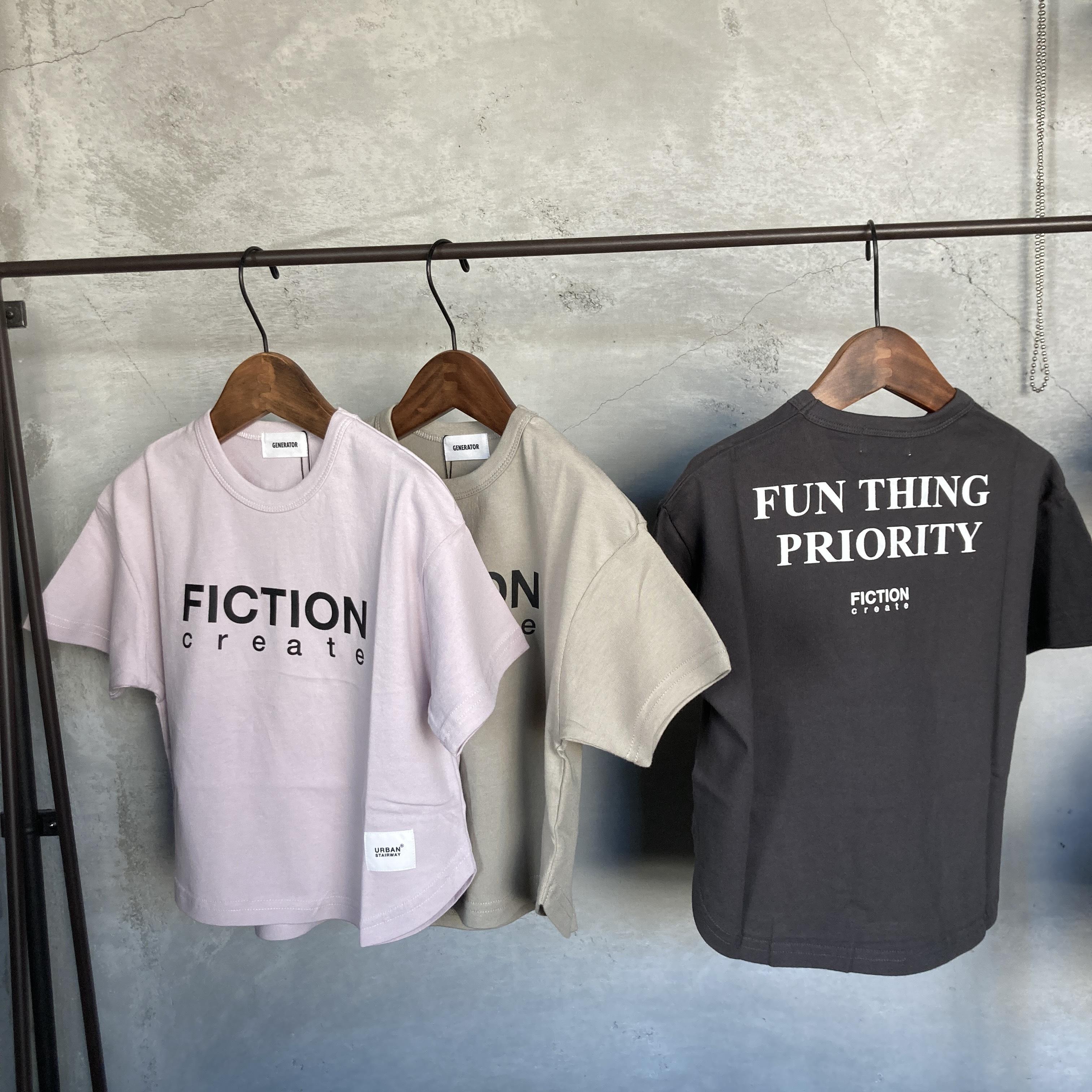 Generator  FICTION Tシャツ  901404