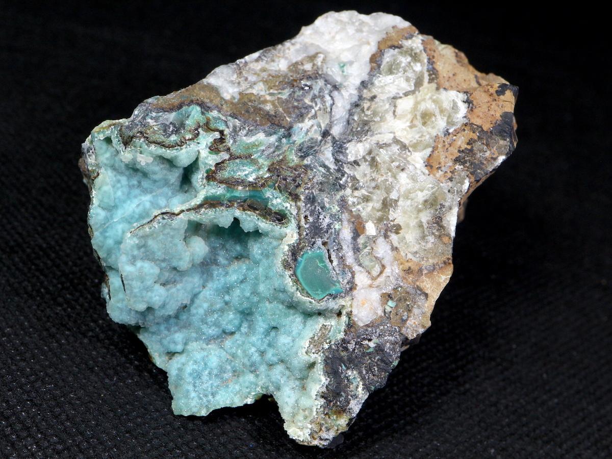 カレドナイト カレドニア石 176,4g CLD001 鉱物 原石 天然石 パワーストーン