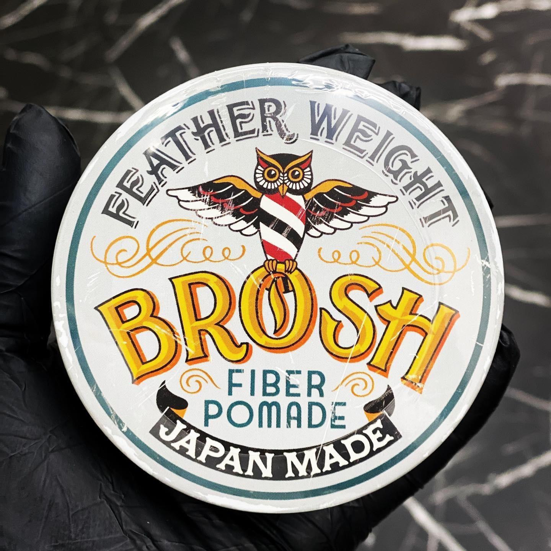 BROSH ファイバーポマード 120g
