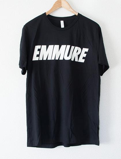 【EMMURE】Sport Logo T-Shirts (Black)