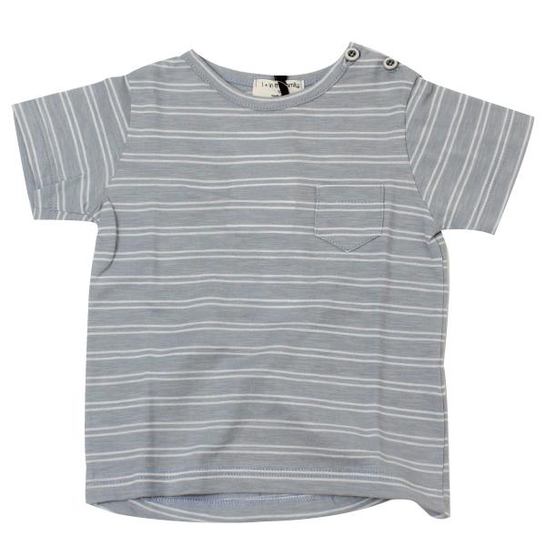 1+in the family ボーダー半そでTシャツ(24m)