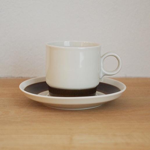 【スウェーデン】 RORSTRAND ロールストランド FORMA(フォルマ) コーヒー カップ&ソーサー