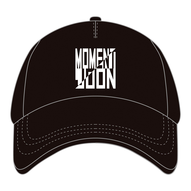 "MOMENT JOON ""Passport & Garcon"" 5PANEL CAP [WHITE]"