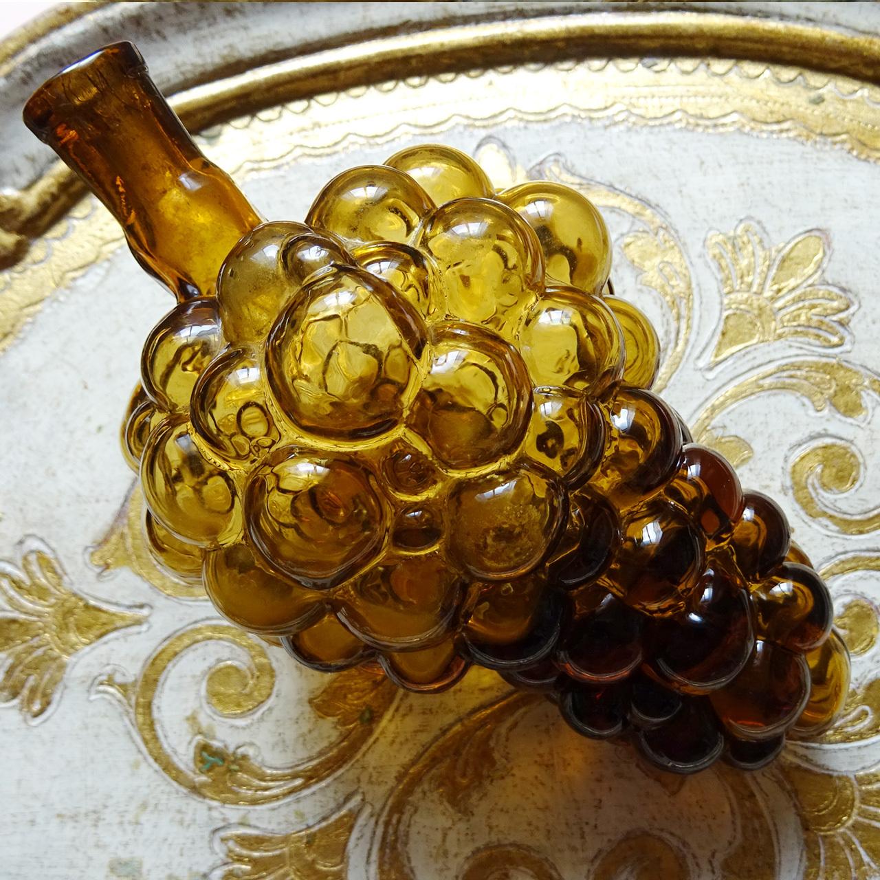 チェコスロバキア ヴィンテージ 古い葡萄の瓶